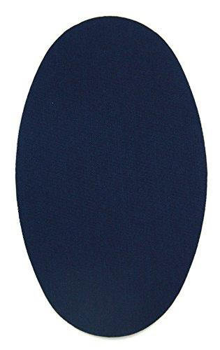 Haberdashery Online 6 Rodilleras Color Marino Claro termoadhesivas de Plancha. Coderas para Proteger tu Ropa y reparación de...