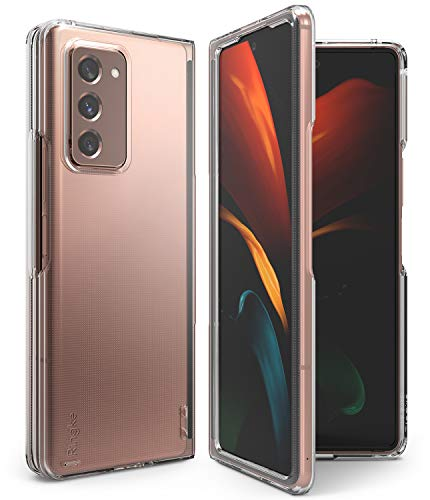 Ringke Slim Compatibile con Cover Samsung Galaxy Z Fold 2 (2020) Sottile Custodia PC - Clear Trasparente