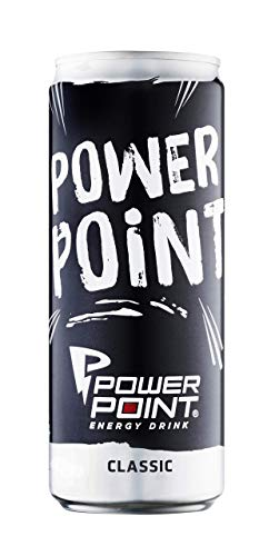 Power Point Energy Drink Classic, Dosen-Design Sortiert, 24er Pack, EINWEG (24 x 330 ml)