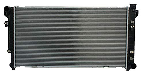 Klimoto Radiator | fits Dodge Ram 2500-3500 1994-2002 8.0L V10 2 Row | Replaces 52029176AB 52006478 52028057AF 52006478 52028057A