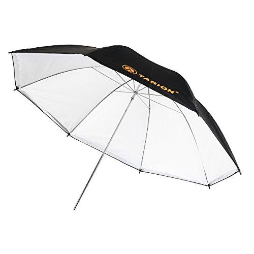 TARION 2 in 1 Controllo Luce Ombrello e Ombrello chiaro doppio schermo Umbrella Studio 110 cm