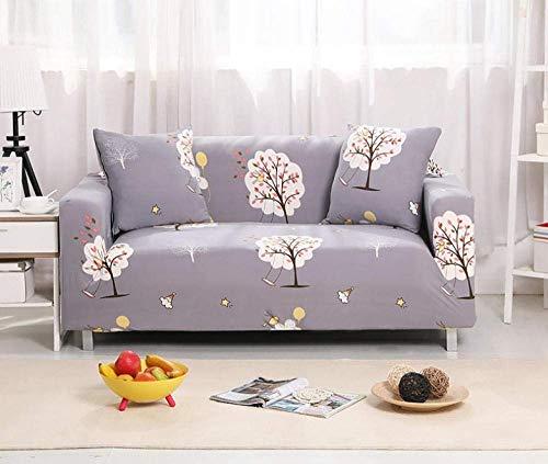 ZGQ Sofabezug Stretch L Form Moderne Ecksofa Überzüge Sofa schonbezug 1 2 3 4 sitzer für Sofa mit recliners, Stretch Stilmöbel Abdeckung Hund Schutz Anti-Falten-Stripe,Dark Gray,4 Seater, 92-118 inch