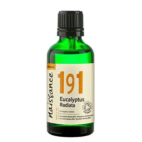 Naissance Huile Essentielle d'Eucalyptus Radiata BIO - 50ml - 100% pure, Certifiée Biologique, vegan et sans OGM