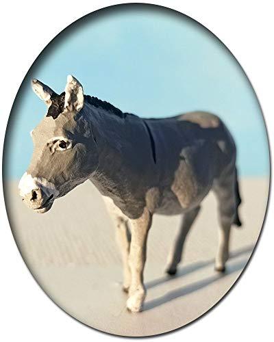 Esel, Modellbahnfigur handbemalt, Spur 0 (Null), 1:45