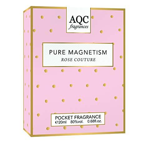 Lote de 2 fragancias de bolsillo de 20 ml, colección Pure Magnetism, color rosa
