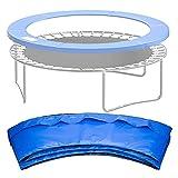 LH-Footstools Trampolin-Schutzhülle, Universal-Trampolin-Ersatz-Sicherheitspolster-Federhülle, langlebige Trampolin-Randabdeckung für runde Rahmen,8ft