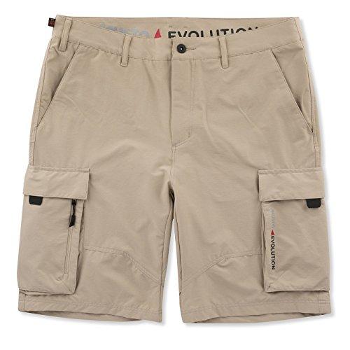 Musto Mens Deck UV Schnell Dry Segeln Segeln Wassersport Shorts Hellstein - Easy Stretch UV Protection und SPF