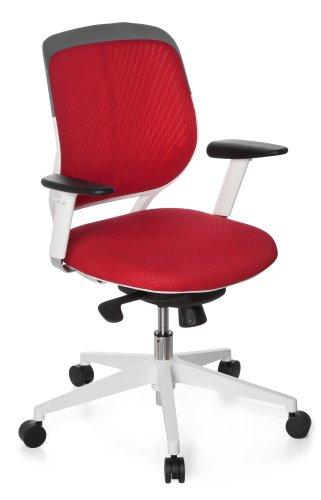 hjh OFFICE Bürostuhl/Chefsessel Elegance Style rot