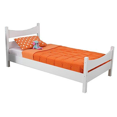 KidKraft Addison Twin Bed, White