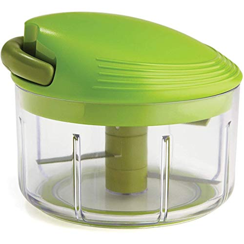 dsfgsdfh Pull Chopper/Manual Food Processor, with Thread Mechanism, Green,