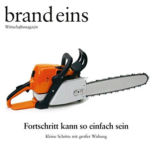 brand eins audio: Kleine Schritte, große Wirkung audiobook cover art
