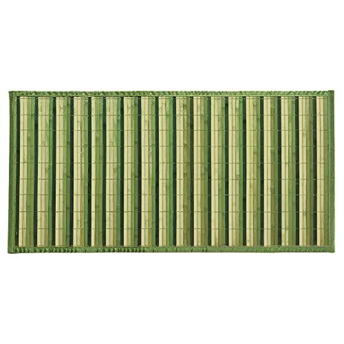 Zm Market Tappeto Cucina Bamboo antiscivolo lavabile,Tappeto Runner Lungo colorato,Passatoia Cucina Legno Bamboo,
