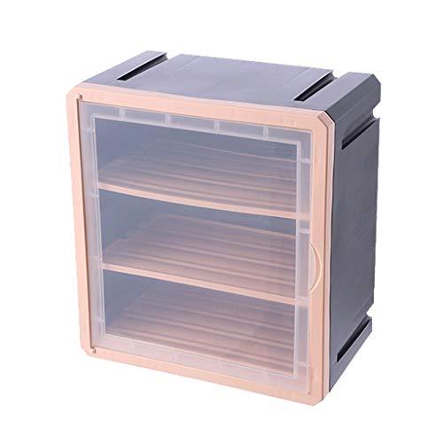 WGZ Medizinschrank für den Haushalt, mehrlagig, wandmontiert, medizinische Notfall-Rettungsset, große Kapazität, einfache Aufbewahrungsbox, Farbe: Grau