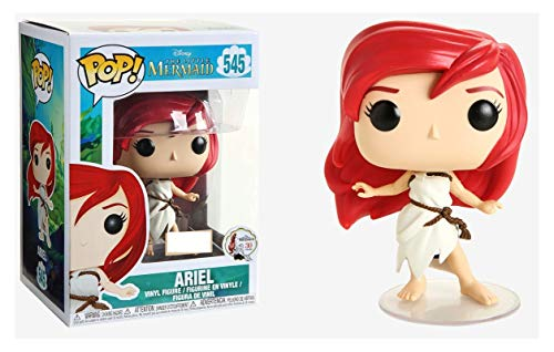 Funko Pop! Disney The Little Mermaid Ariel White Sail Rags Dress Exclusive Vinyl Figure 545