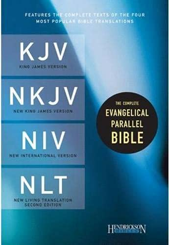 Compare Textbook Prices for The Complete Evangelical Parallel Bible Hardcover None, Hardcover Edition ISBN 0031809106679 by Hendrickson Publishers
