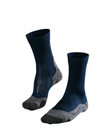 FALKE TK2 Cool W So Chaussettes de randonnée Femme, Bleu (Marine 6120), 41-42 (UK 7-8 Ι US 9.5-10.5)