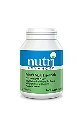 Nutri 50mg Multi Essentials Men 60 Tablets by TREZA