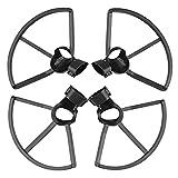 Hensych 4 unids/set protector de hélice para D-J-I FPV Drone Blade Protection Cover Anillo de hoja de liberación rápida anti-colisión protector de hélice protector para FPV Drone Accesorios