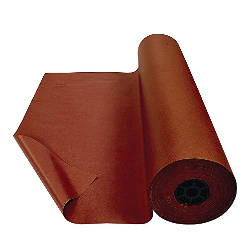 Colorations Prima-Color Fade-Resistant Paper Rolls, Brown, Arts and Crafts, 48' x 60', Drawing, Finger Painting, Paint, Watercolor, Wall Art, Bulletin Boards, Kids Crafts (Item # DSBR)