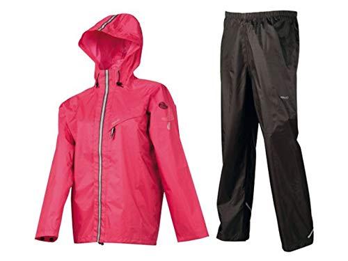 AGU Kinder Regenanzug Splash Kettenschloss, pink, 128