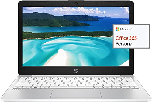 2021 HP 11.6' HD Laptop for Student and Home use, Intel Celeron N4000, 4GB RAM, 64GB eMMC, Webcam,...