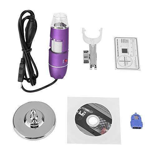 Hair Follicle Scalp Detector, 50X500X Digital Microscope USB Endoscope Beauty Skin Tester Hair Follicle Scalp Detector