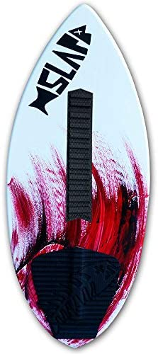 Slapfish Skimboards Kids /& Adults Fiberglass /& Carbon 48 with Traction Deck Grip 4 Colors Riders up to 200 lbs