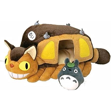 スタジオジブリ となりのトトロ ネコバスのおうち ぬいぐるみ M 長さ34cm