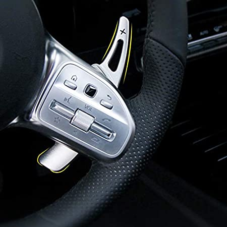 Onwomania Schaltwippen Dsg Shift Paddle Für A45 Cla45 C65 S65 Gle63 G63 Cls63 2015 2016 C63 15 17 Sl63 Gla Amg Gls Amg 16 Rot Eloxiert Auto