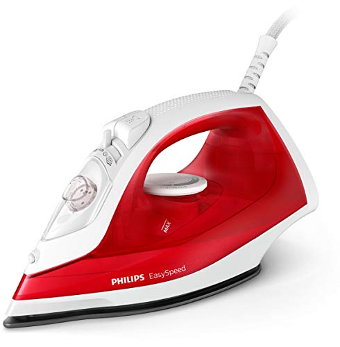 Philips EasySpeed GC1742/40 iron Dry & Steam iron No Stick soleplate Red White 2000 W