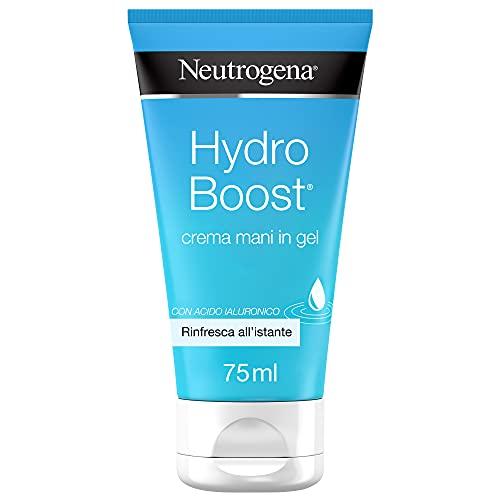 Neutrogena Hydro Boost, Crema Mani Idratante In Gel, con Acido Ialuronic - 80 Gr
