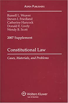 Paperback Constitutional Law 2007: Cases, Materials and Problems Book