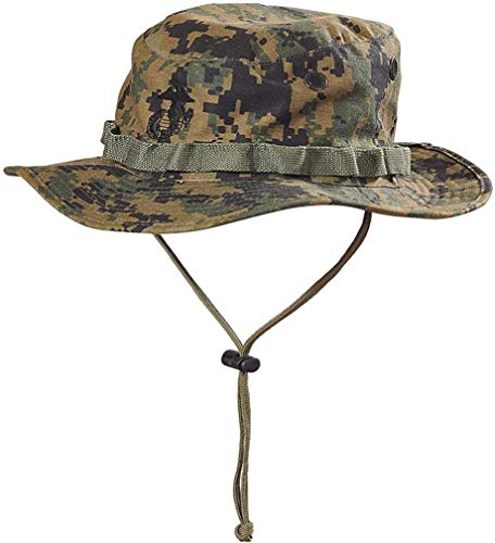 Helikon-Tex USMC Boonie Hat -Polycotton Twill- USMC Digital Woodland