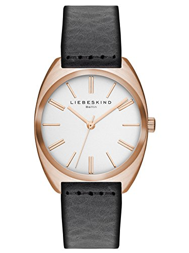Liebeskind Berlin Damen-Armbanduhr Vegetable Analog Quarz Leder