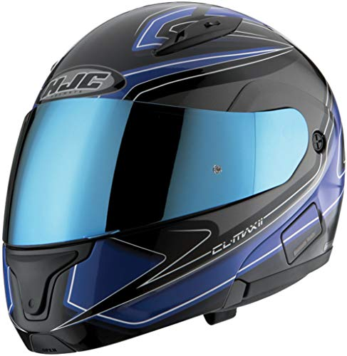 HJC Helmets HJ-17 Pinlock Ready RST Shield IS-MAX BT Street Bike Racing Motorcycle Helmet Accessories - Blue/One Size Fits Most