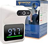 FIGHTECH Wall-Mounted Infrared Forehead Thermometer for Adults with Bluetooth | Non-Contact Instant Reading Digital Temperature Detector (no Battery)