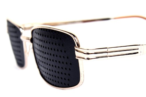 FreshGadgetz Set 1 Lochbrille Rasterbrille Pinhole Kunststoff