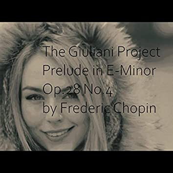 Prelude in E-Minor Op.28 No.4 by Frederic Chopin