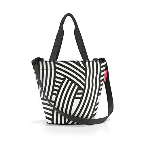 reisenthel shopper XS, Einkauftasche, Tragetasche, Tasche, Handtasche, Umhängetasche, Polyestergewebe, Zebra, 4 L, ZR1032
