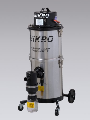Nikro Mercury Recovery Vacuum 15 Gallon Painted Steel MV15110-PTD