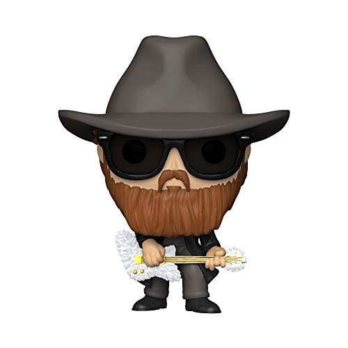 Funko- Pop Rocks: ZZ Top-Billy Gibbons Figura Coleccionable, Multicolor (41150)