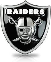 NFL Oakland Raiders 3D Logo Trailer Tow Hitch Cover, Official Licensed