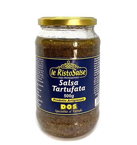 Sauce aux Truffes 500 grammes - Utilisé dans les Restaurants et Chefs - Produit Artisanal Italien