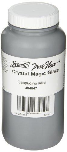 Sax True Flow Crystal Magic Glaze, Cappuccino Mint, 1 Pint