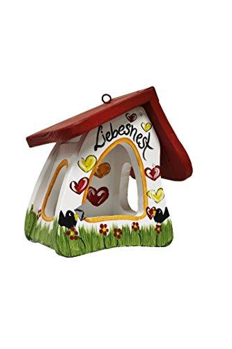 Die Vogelvilla, Futtermini Spezial Liebesnest Brief, Vogelhaus Futterhaus