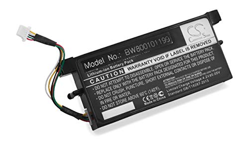 vhbw Batterie LI-ION 1900mAh Compatible pour Dell remplace X8483 / PERC5E / M9602 / PERC5i / U8735 / P9110