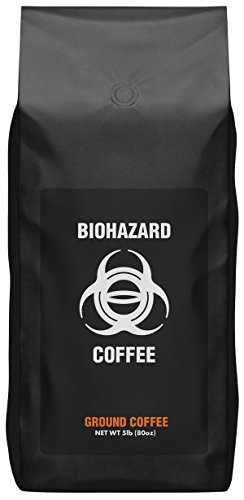 Biohazard Ground Coffee, The World's Strongest Coffee...