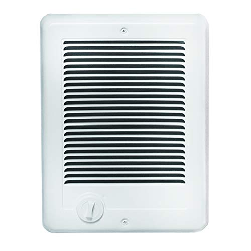 Cadet Com-Pak Electric Wall Heater with Thermostat (Model: CSC152TW), 240V, 1500W, White