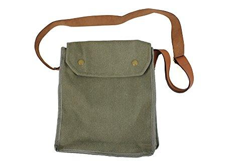 thecostumebase Indiana Jones MK VII Gasmaske Tasche Green Indy Reps WWII