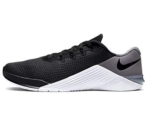 Nike Men's Metcon 5 Black/Black-White-Gunsmoke Size 9